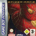 Spider-Man 2 Game Boy Advance Front Cover