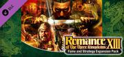 Romance of the Three Kingdoms XIII: Fame and Strategy Expansion Pack Windows Front Cover