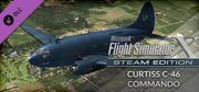 Microsoft Flight Simulator X: Steam Edition - Curtiss C-46 Commando Windows Front Cover