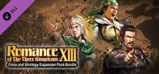 "Romance of the Three Kingdoms XIII: Fame and Strategy Expansion Pack Bundle - Additional Scenario ""Northern Campaign of Jiang Wei"" Windows Front Cover"
