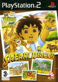 Go Diego Go!: Safari Rescue PlayStation 2 Front Cover