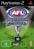 AFL Premiership 2007 PlayStation 2 Front Cover