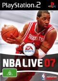 NBA Live 07 PlayStation 2 Front Cover