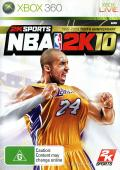 NBA 2K10 Xbox 360 Front Cover