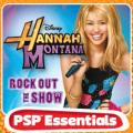 Hannah Montana: Rock Out the Show PSP Front Cover