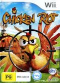 Chicken Riot Wii Front Cover