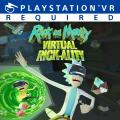 Rick and Morty: Virtual Rick-ality PlayStation 4 Front Cover