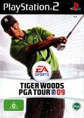 Tiger Woods PGA Tour 09 PlayStation 2 Front Cover