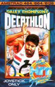 Daley Thompson's Decathlon Amstrad CPC Front Cover