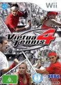 Virtua Tennis 4 Wii Front Cover