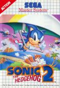 Sonic the Hedgehog 2 SEGA Master System Front Cover