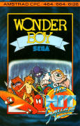 Wonder Boy Amstrad CPC Front Cover