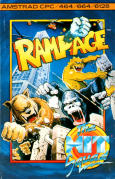 Rampage Amstrad CPC Front Cover
