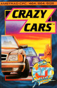 Crazy Cars Amstrad CPC Front Cover