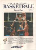 GBA Championship Basketball: Two-on-Two Commodore 64 Front Cover