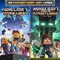 The Minecraft: Story Mode Bundle PlayStation 4 Front Cover