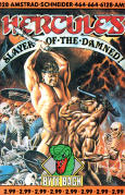 Hercules: Slayer of the Damned! Amstrad CPC Front Cover