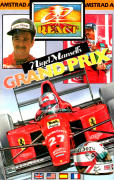 Nigel Mansell's Grand Prix Amstrad CPC Front Cover