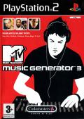 MTV Music Generator 3 PlayStation 2 Front Cover