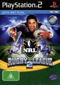 Rugby League 2 PlayStation 2 Front Cover