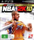 NBA 2K10 PlayStation 3 Front Cover