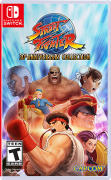 Street Fighter: 30th Anniversary Collection Nintendo Switch Front Cover