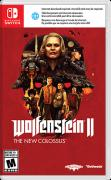 Wolfenstein II: The New Colossus Nintendo Switch Front Cover
