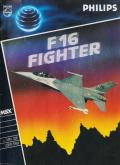 F16 Fighting Falcon MSX Front Cover Also: Front of Manual