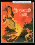 Dragon's Lair Amstrad CPC Front Cover