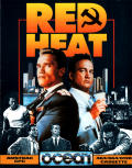 Red Heat Amstrad CPC Front Cover