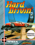 Hard Drivin' Amstrad CPC Front Cover
