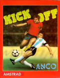 Kick Off Amstrad CPC Front Cover