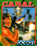 Cabal Amstrad CPC Front Cover