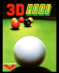 Sharkey's 3D Pool Amstrad CPC Front Cover