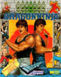 Bad Dudes Amstrad CPC Front Cover