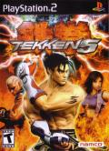 Tekken 5 PlayStation 2 Front Cover