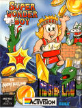 Wonder Boy in Monster Land Amstrad CPC Front Cover