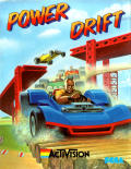 Power Drift Amstrad CPC Front Cover