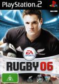 Rugby 06 PlayStation 2 Front Cover
