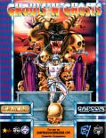 Ghouls 'N Ghosts Amstrad CPC Front Cover