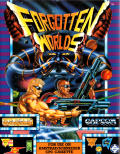 Forgotten Worlds Amstrad CPC Front Cover