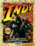 Indiana Jones and the Last Crusade: The Action Game Amstrad CPC Front Cover