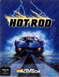 Hot Rod Amstrad CPC Front Cover