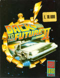 Back to the Future Part II Amstrad CPC Front Cover