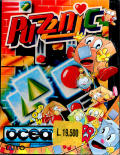 Puzznic Amstrad CPC Front Cover
