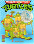 Teenage Mutant Ninja Turtles Amstrad CPC Front Cover