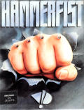 Hammerfist Amstrad CPC Front Cover