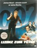 007: Licence to Kill Commodore 64 Front Cover