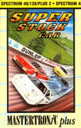 Super Stock Car ZX Spectrum Front Cover