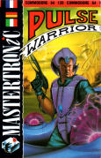 Pulse Warrior Commodore 64 Front Cover